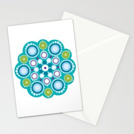 Lotus mandala flower Stationery Cards