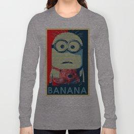 Minion banana Long Sleeve T-shirt