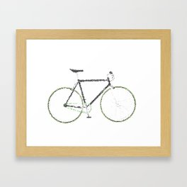 My Fixie Bike Framed Art Print