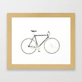 My Fixie Bike Framed Art Print