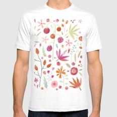 Last of the Crop MEDIUM Mens Fitted Tee White