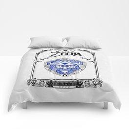 Zelda legend - Hylian shield Comforters
