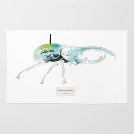 Dynastes Wirelessus Beetle Rug