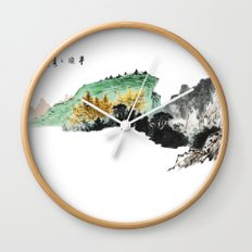 Spring of Pin-Din Wall Clock