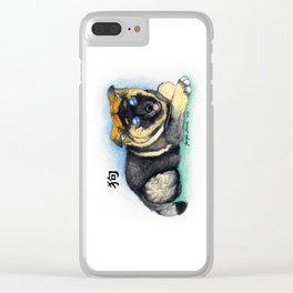 Chinese Zodiac Year of the Dog Clear iPhone Case