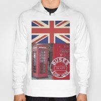 british Hoodies featuring Very British by LebensART