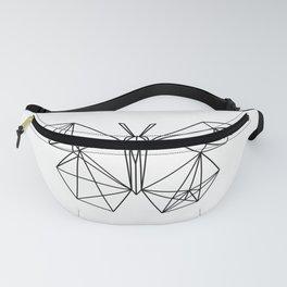 geometric butterfly Fanny Pack