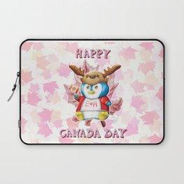 Canada Day 2019 - Eh - ALT CLR - Text Laptop Sleeve