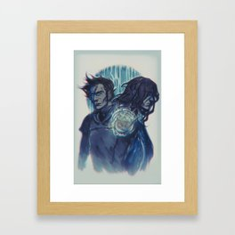 THE END Framed Art Print