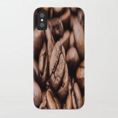 Coffee Beans iPhone X Slim Case