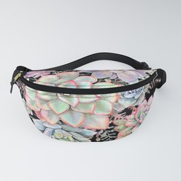Watercolor Succulent #55 Fanny Pack