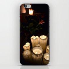 melting candles iPhone & iPod Skin