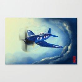 F4U-4B Canvas Print