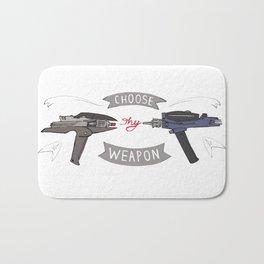 Choose Thy Weapon Bath Mat