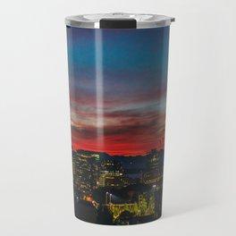 Seattle Sunset Travel Mug
