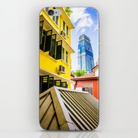 singapore iPhone & iPod Skins featuring Singapore by Jiunn