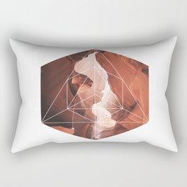 A Great Canyon - Geometric Photography Rectangular Pillow