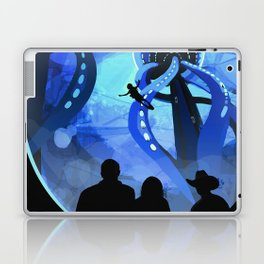Europa Space Travel Retro Art Laptop & iPad Skin