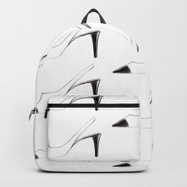 Black & White shoes Backpack