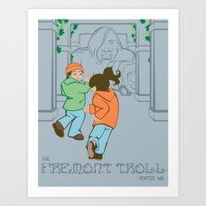 The Fremont Troll Art Print
