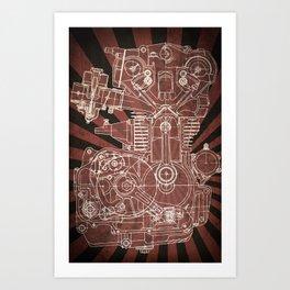 CB450 Japan Art Print