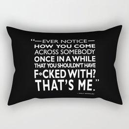 Gran Torino - Ever Notice Rectangular Pillow