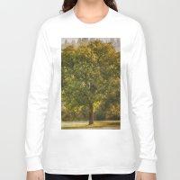 monet Long Sleeve T-shirts featuring Morning Fog Monet by Elliott's Location Photography