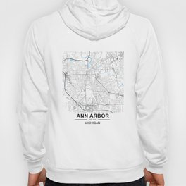 Ann Arbor, Michigan Hoody