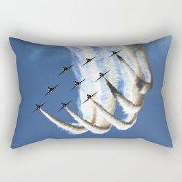 Flying formation Rectangular Pillow