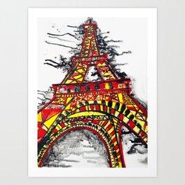 Stand Strong, Paris  Art Print