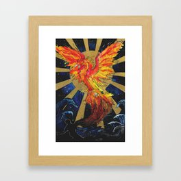 Rise From The Ashes Framed Art Print