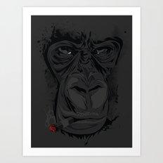 Munkygiga Art Print