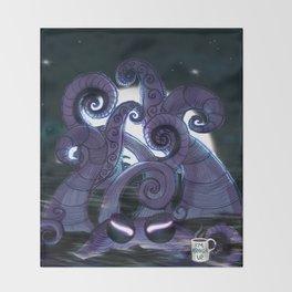 Kraken Up Throw Blanket