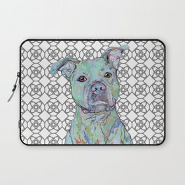 Staffy Portrait Laptop Sleeve