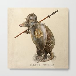 Armadillo (option) Metal Print