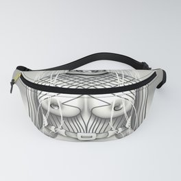 Whiteout White Girl Fanny Pack