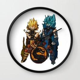 mortal dragon Wall Clock