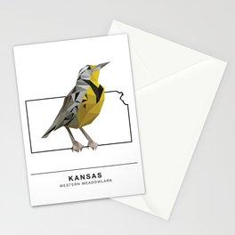 Kansas – Western Meadowlark Stationery Cards