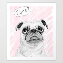 Food?!?! Art Print