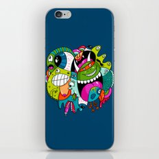 Complicated Scribble iPhone & iPod Skin
