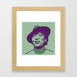 Zora Neale Hurston Framed Art Print