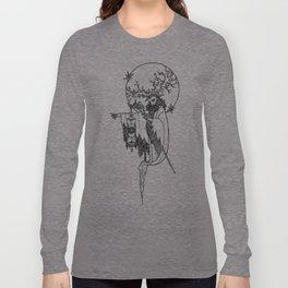 Major Arcana IX The Hermit Long Sleeve T-shirt