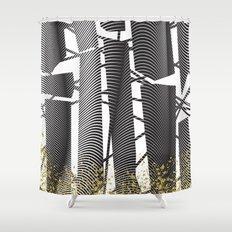 TRANSCENDENCY Shower Curtain