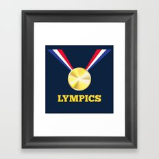Lympics Framed Art Print