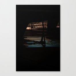 Night bow Canvas Print