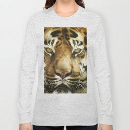 Face of Tiger Long Sleeve T-shirt