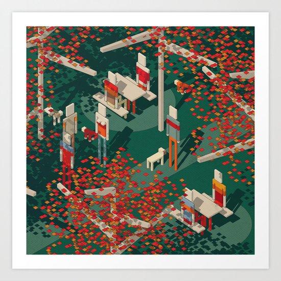 Habitat 19 Art Print