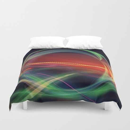 The Gate Abstract Duvet Cover