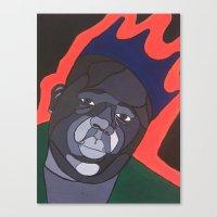 big poppa Canvas Prints featuring Big Poppa by Gustavo Barroso