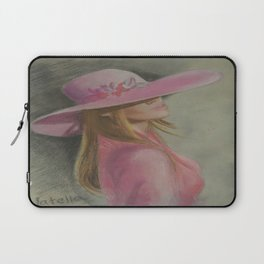 Lady in the hat Laptop Sleeve